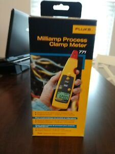 Brand New Fluke 771 Meter With Case Milliamp Process Clamp Meter