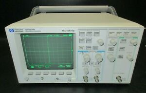 Hp Hewlett Packard 54603b 60 Mhz Dual Channel Oscilloscope