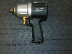 Craftsman 875 198651 1 2 in Pro Series Composite Impact Wrench