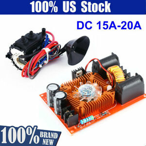 Zvs Tesla Coil Power Supply High Voltage Generator Driver Board W Ignition Coil