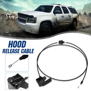 Hood Release Cable 15142953 For 1999 07 Chevy Silverado 1500 2500 Gmc Sierra Us