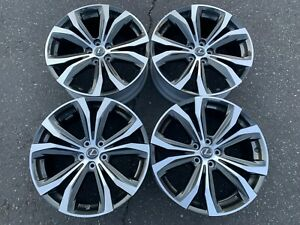 Four 2019 2020 Lexus Rx350 Rx450h Factory 20 Wheels Rims Oem 74338