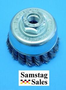 Elora 2850 Twisted Wire Cup Brush Heavy Duty Size 65mm 2 1 2 Diameter