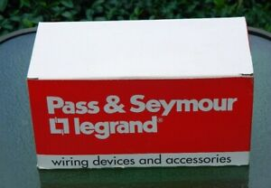 Pass Seymour Double Pole Switches 10 Ivory Ps20ac2 1