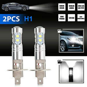 20x White 1w 2323 T10 Wedge Led Car Lights Bulb Lamp 147 159 192 168 194 12v