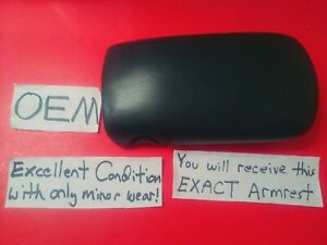 oem 00 07 Chevy Monte Carlo Ss Ls Armrest Center Console Storage Lid Mint Cond