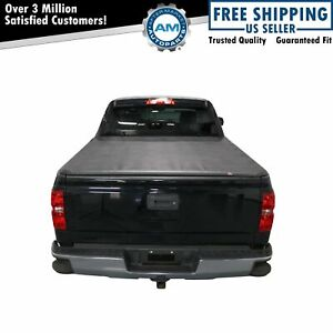 Hard Tri fold Tonneau Cover Easy Install For 05 15 Toyota Tacoma 6ft 74 Inch Bed