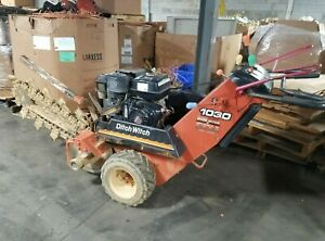 Ditch Witch 1030 Walk Behind Trencher Digger 48 Length X 6 Blade Can Ship
