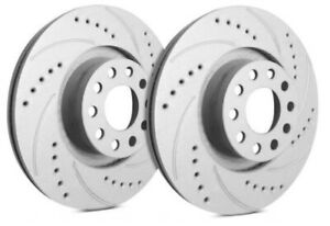 Sp Rear Rotors For 1998 Mustang Svt Cobra Drilled Slotted F54 0362004
