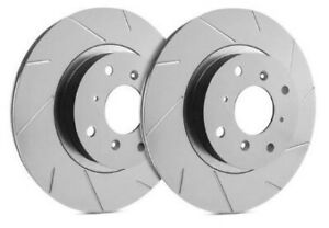 Sp Performance Front Rotors For 2001 Mustang Svt Cobra Slotted Zrc T54 0459541