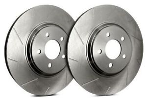 Sp Performance Rear Rotors For 2003 Mustang Svt Cobra Slotted Zinc T54 036 P52