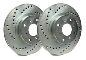 Sp Performance Rear Rotors For 2003 Mustang Svt Cobra Drilled C54 036 P9784