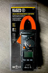 Klein Tools 400 Amp Ac Auto ranging Digital Clamp Meter With Temp Cl210