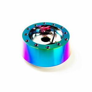 Neo Chrome Steering Wheel Hub Adapter Kit For Momo Nrg Sparco Illinium Flux