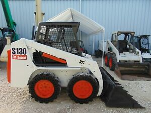 2013 Bobcat S 130 solid deal Tires Tier Iv Kubota Diesel Super Low Hours