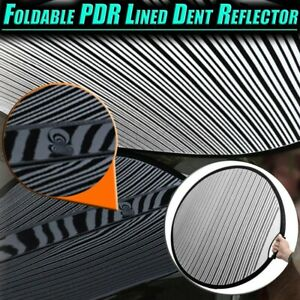 Foldable Pdr Lined Dent Reflector Board Cloth Line Board Scratch Dent Remover Us
