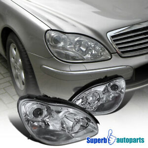 For 2000 2005 Mercedes Benz W220 S class S500 S600 S55 Projector Headlights