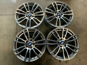 Four 2012 2019 Bmw 330 335 428 440 Factory 19 Wheels Rims Oem 71621 71623