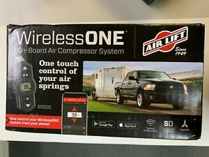 Wireless One On board Air Compressor System Air Lift New In Box 25980 Bluetooth