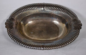 Wm Rogers Wellington Silverplate Silver Plate Serving Bowl Tray 3935 14 5