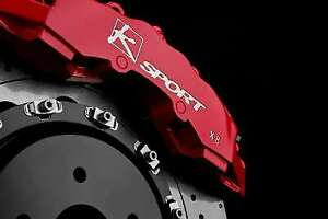 Ksport Supercomp Bbk For 1994 2004 Ford Mustang Front 421mm Red Bkfd170 971sr
