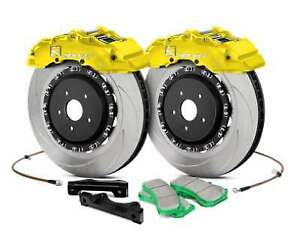 Ksport Supercomp Bbk For 1998 2003 Mazda 323 Front 400mm Yellow Bkmz020 961sy