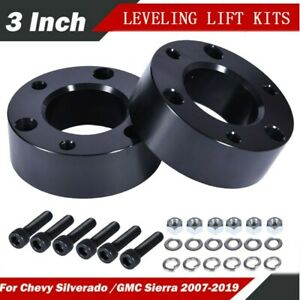 3 Inch Front Leveling Lift Kit For 2007 2018 Chevy Silverado Gmc Sierra Gm 1500