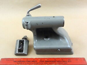 Nice Orig South Bend 9 Lathe Tailstock Top Base Cast Lock Lever Clamp Asy