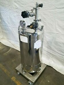 Alloy Products 15 tk 120 r T316l Stainless Steel Pressurized Vessel Tank 20 Gal