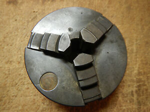 Older Bison 3 Jaw Metal Lathe Chuck No Mount Plate Machinist Tool