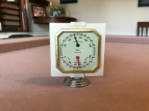 Vintage Auto Truck Dash Thermometer 1940s 1950s Accessory Chevy Ford