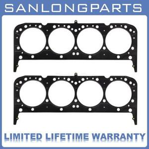 2x For Sbc Chevy 350 383 Mls Multi Layer Steel Head Gasket 4 065 0 040