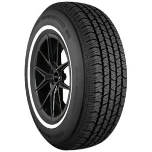 2 p215 75r15 Cooper Trendsetter Se 100s Whitewall Tires