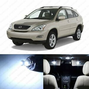 20 X White Led Interior Light Package For 2004 2009 Lexus Rx330 Rx350 Tool