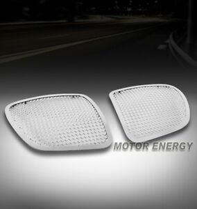 For 06 07 08 09 Pontiac Solstice Upper Stainless Mesh Grille Grill Insert Chrome