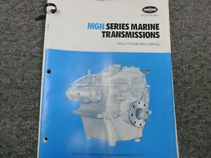 Twin Disc Mgn 1024h Transmission Assembly Dimensional Specifications Manual