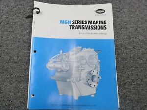 Twin Disc Mgn 1026h Transmission Assembly Dimensional Specifications Manual