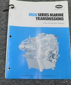 Twin Disc Mgn 3726h Transmission Assembly Dimensional Specifications Manual