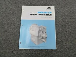 Twin Disc Mg 530 Marine Transmission Assembly Dimensional Specifications Manual