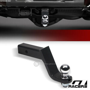 4 5 Drop Trailer Towing Hitch Loaded Ball Mount Pin Clip With 2 Receiver G25