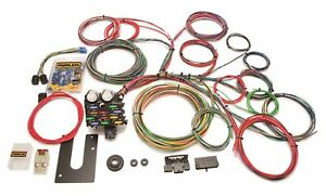 Painless Wiring 10102 21 Circuit Classic Customizable Chassis Harness