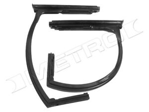 Front Vent Window Seals Fits 1948 1951 Willys Jeepster Fast Shipping Usa Made
