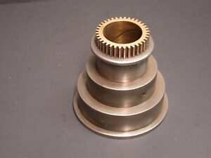 H10 South Bend Lathe Flat Belt Headstock Cone Pulley