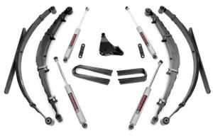Ford F250 F350 Super Duty 4 Suspension Lift Kit W Leaf Springs 1999 2004