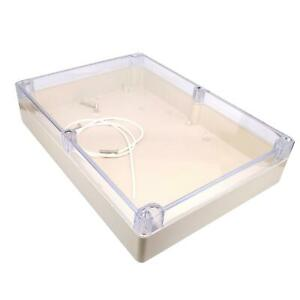 Us Stock 1pc Plastic Project Box Electronic Enclosure Case Diy 60 X 210 X 290mm