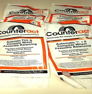 6 Bags 6oz Counteract Tire Balance Bead Bags