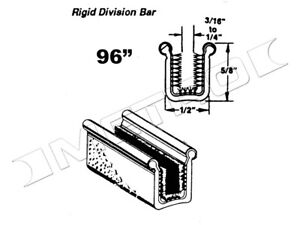 Rigid Division bar Channel Fits 1957 1967 Ford Ranchero Falcon And More
