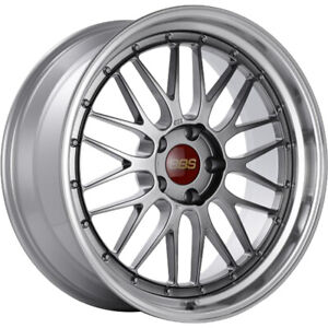 19x10 Black Machined Wheel Bbs Lm 5x120 25