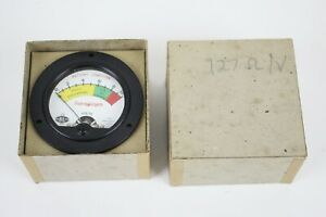Benwood Linze Co Voltage Battery Gauge Supercharger New In Box Vintage Usa