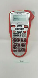Brother Industries P touch Red Label Maker Thermal Printer Model Pt 1010